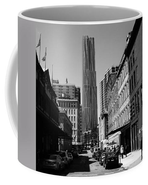 Beekman Coffee Mug featuring the photograph Beekman Tower 2 by Andrew Fare