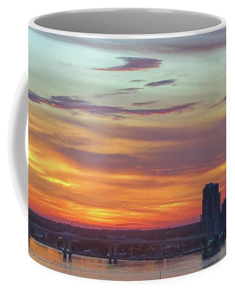 Dawn Coffee Mug featuring the photograph Before Dawn by A H Kuusela