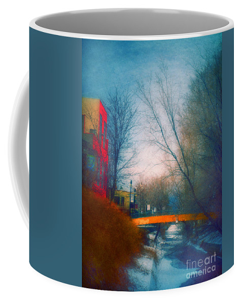 Penticton Coffee Mug featuring the photograph Behind Front Street by Tara Turner