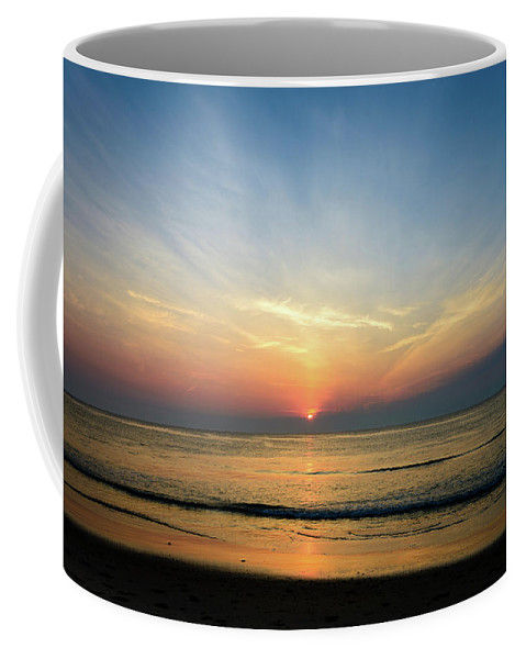 Landscape Coffee Mug featuring the photograph Behind The Clouds by Michael Scott