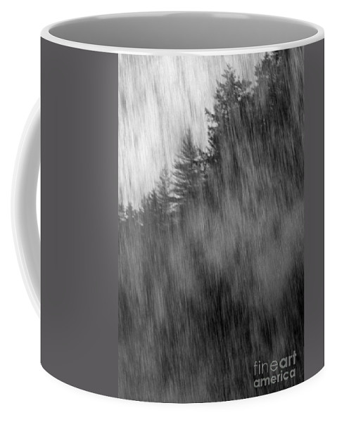 Waterfalls Coffee Mug featuring the photograph Behind The Falls by Richard Rizzo
