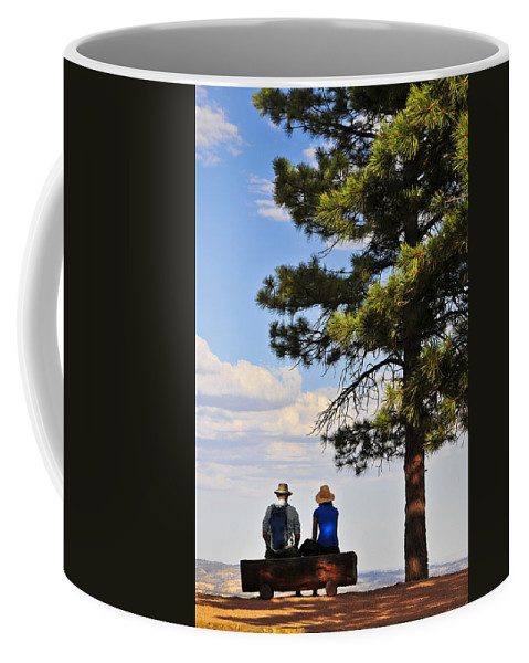 Behold Coffee Mug featuring the photograph Behold 2 by Skip Hunt