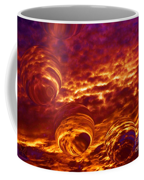 Colorful Coffee Mug featuring the photograph Behold His Glory by Dale Crum
