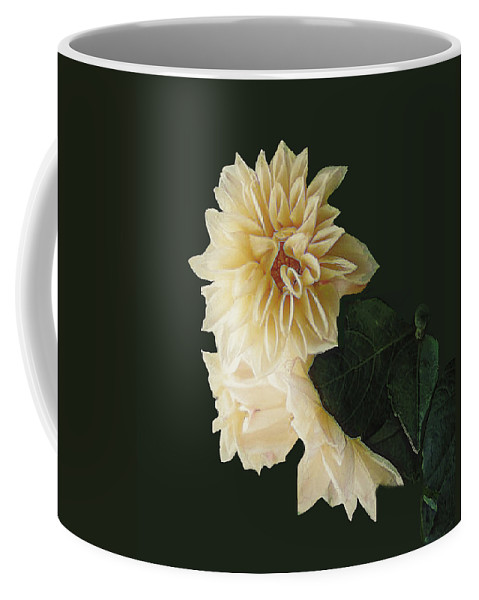 Beige Coffee Mug featuring the digital art Beige Bold And Beautiful by RC DeWinter