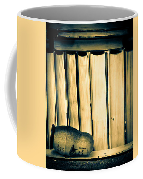 Being John Malkovich Coffee Mug featuring the photograph Being John Malkovich by Bob Orsillo