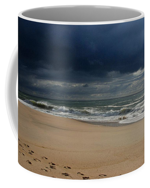 Jersey Shore Coffee Mug featuring the photograph Believe - Jersey Shore by Angie Tirado