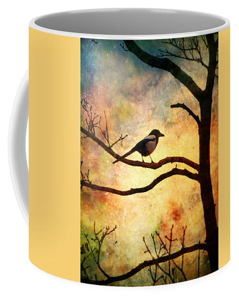 Bird Coffee Mug featuring the photograph Believing In The Morning by Tara Turner