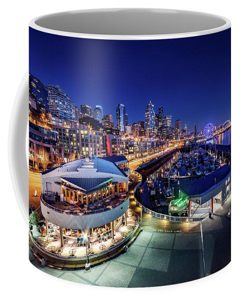 Bell Harbor Coffee Mug featuring the photograph Bell Harbor by Jon Reiswig