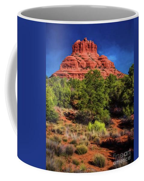 Jon Burch Coffee Mug featuring the photograph Bell Rock Dream by Jon Burch Photography