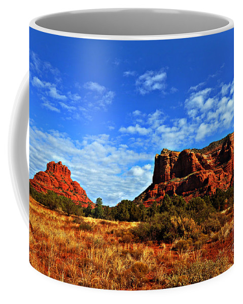 Sedona Coffee Mug featuring the photograph Bell Rock by Eric Liller