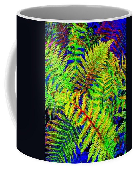 Bella Flora Coffee Mug featuring the digital art Bella Flora by Will Borden