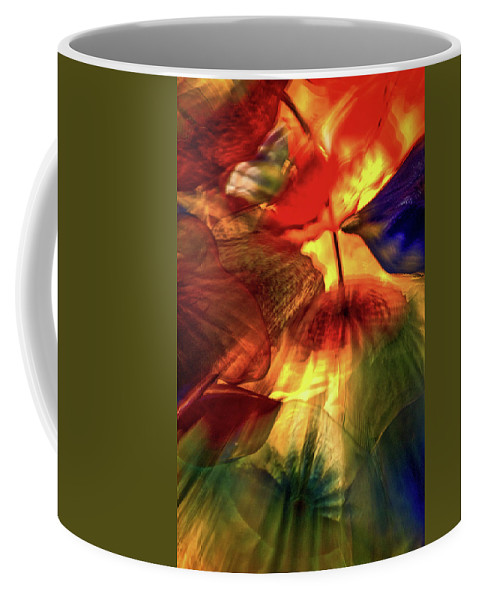 Las Vegas Coffee Mug featuring the photograph Bellagio Ceiling Sculpture Abstract by Stuart Litoff