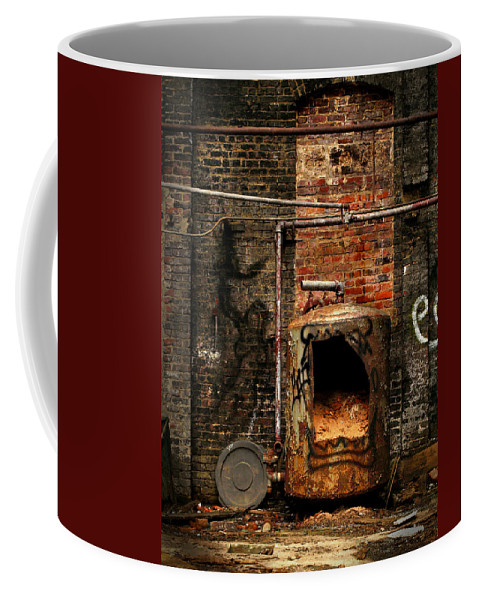 Factory Coffee Mug featuring the photograph Belly Of The Beast by J K York