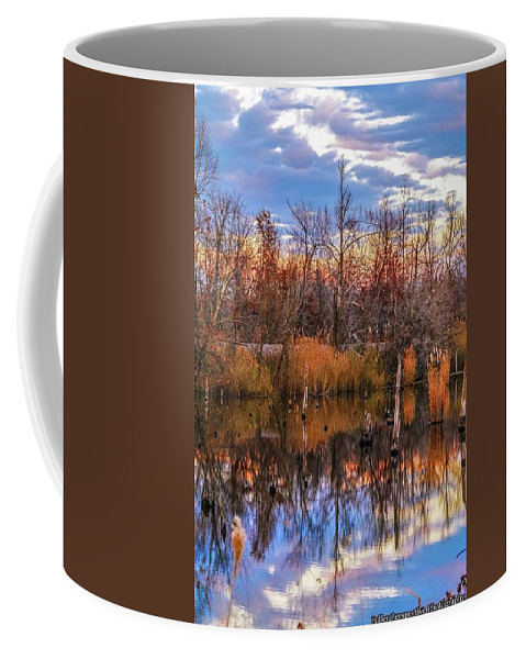 Clouds Coffee Mug featuring the photograph Beluah Road by Chad Fuller