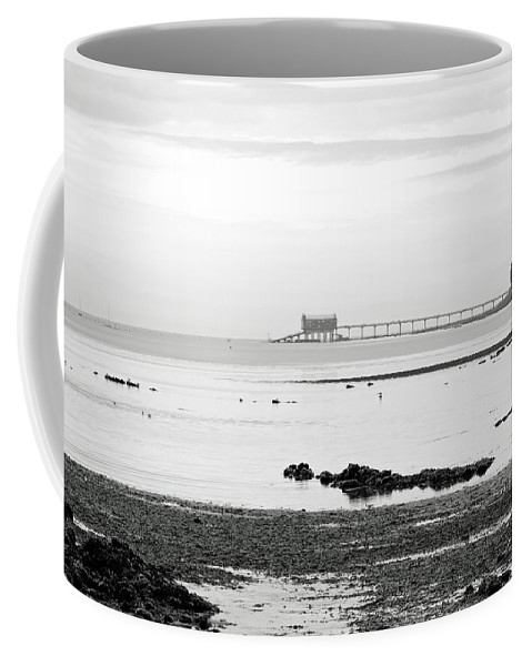 Europe Coffee Mug featuring the photograph Bembridge Lifeboat Station From St Helens by Rod Johnson