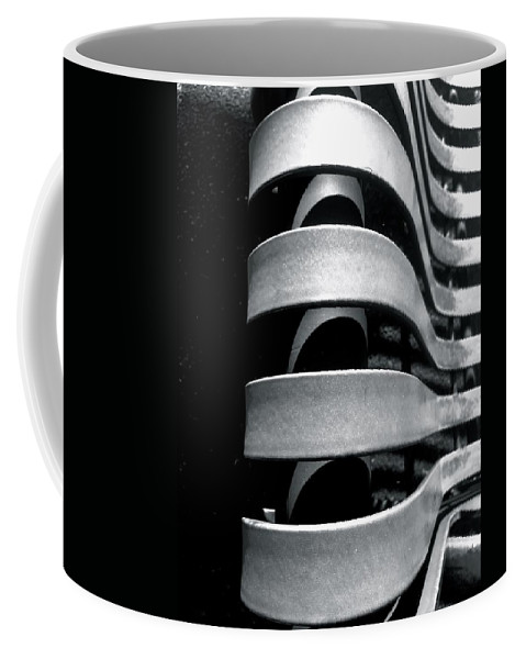 Metal Coffee Mug featuring the photograph Bench #1 by Julian Grant