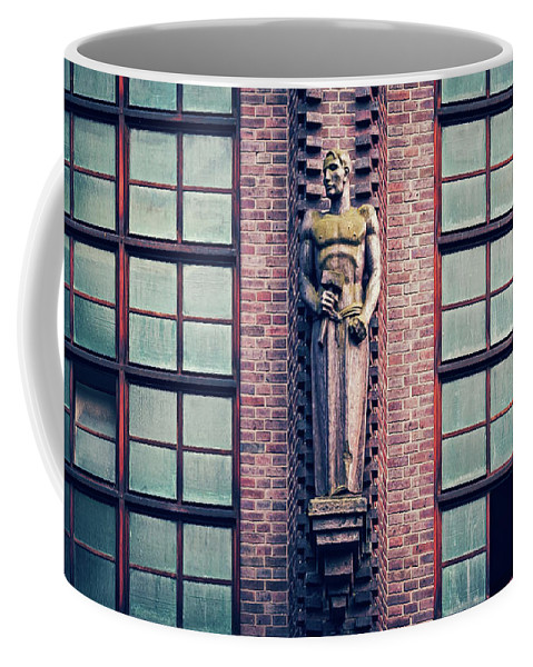 Berlin Coffee Mug featuring the photograph Berlin - Industrial Architecture by Alexander Voss