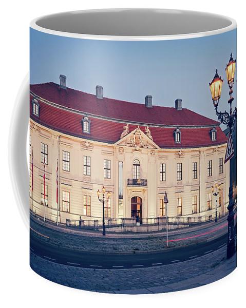 Berlin Coffee Mug featuring the photograph Berlin - Jewish Museum by Alexander Voss