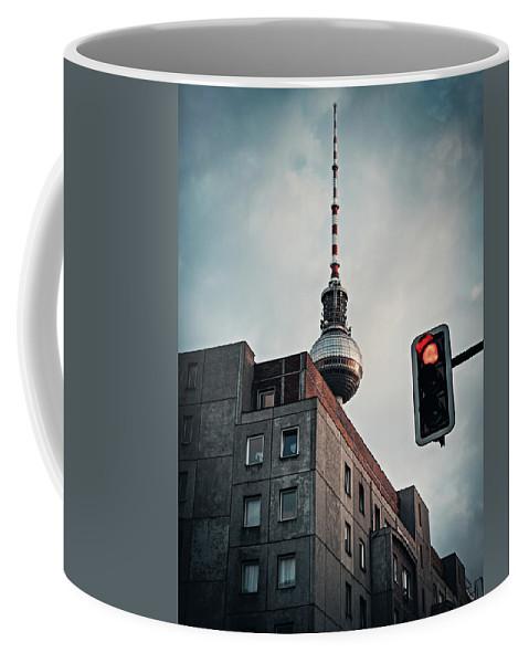 Berlin Coffee Mug featuring the photograph Berlin-mitte by Alexander Voss