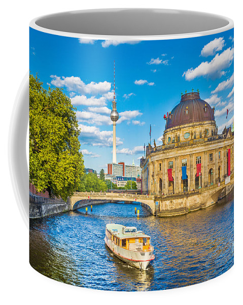 Alexanderplatz Coffee Mug featuring the photograph Berlin Museum Island by JR Photography