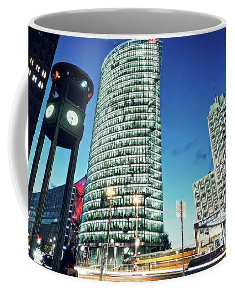 Berlin Coffee Mug featuring the photograph Berlin - Potsdamer Platz by Alexander Voss