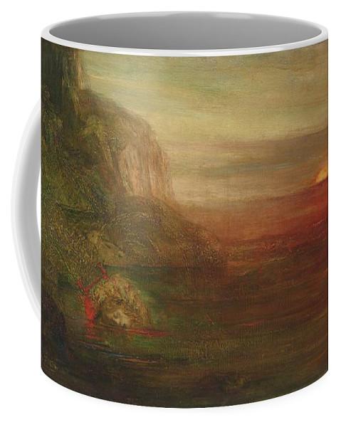Pierre Am�d�e Marcel-beronneau Orph�e 1901 Coffee Mug featuring the painting Beronneau Orphee by Pierre Ameee