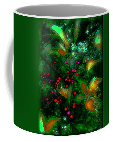 Berries Coffee Mug featuring the photograph Berries by Iowan Stone-Flowers