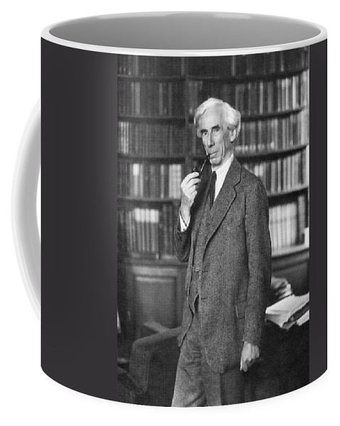 1935 Coffee Mug featuring the photograph Bertrand Russell by Granger