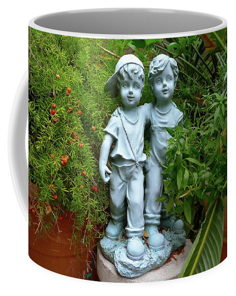 Garden Coffee Mug featuring the photograph Best Buddies by Denise Mazzocco