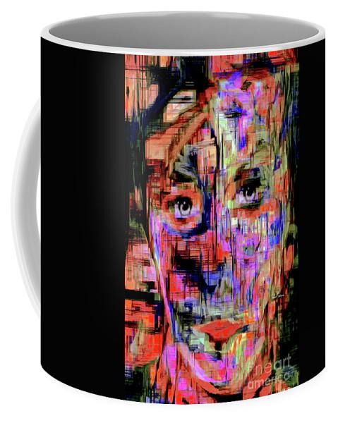Rafael Salazar Coffee Mug featuring the digital art Besties by Rafael Salazar