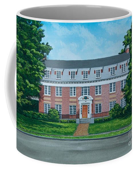 Beta Theta Pi Painting Coffee Mug featuring the photograph Beta Theta Pi by Charlotte Blanchard