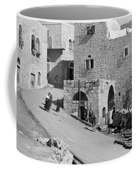 Home Coffee Mug featuring the photograph Bethlehem Homes by Munir Alawi