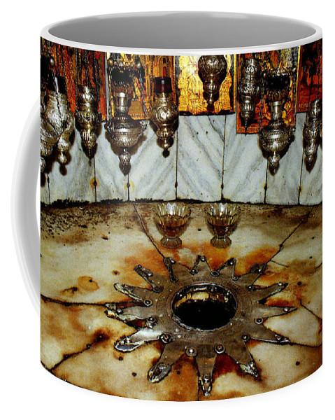 Nativity Coffee Mug featuring the photograph Bethlehem Star by Munir Alawi