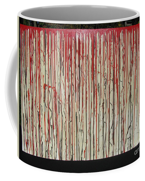 Blood Coffee Mug featuring the painting Betrayal by Jacqueline Athmann