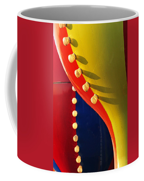 Abstract Coffee Mug featuring the photograph Betty by Skip Hunt
