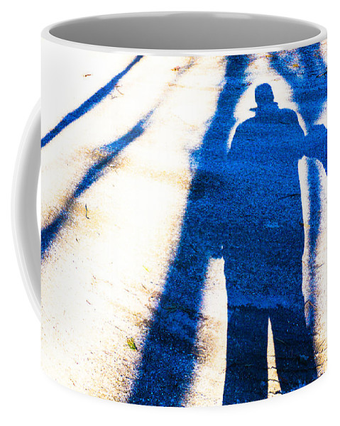 Shadow Coffee Mug featuring the photograph Beyond A Shadow 1 by Mim White
