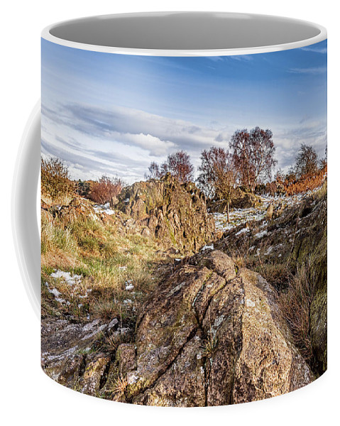 Bomb Rocks Coffee Mug featuring the photograph Beyond The Rocks by Nick Bywater