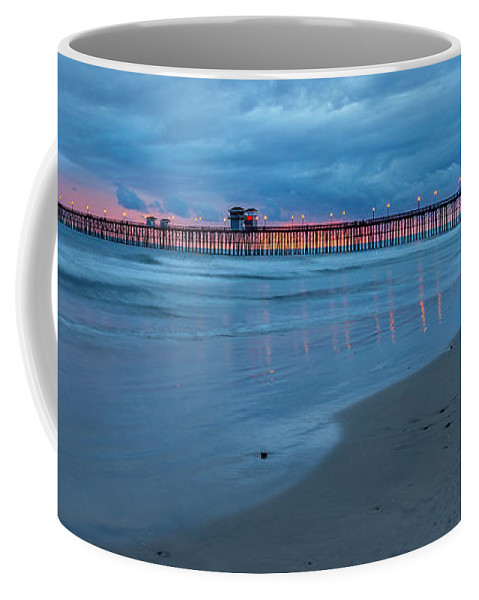 Beach Coffee Mug featuring the photograph Beyond The Storm by Peter Tellone