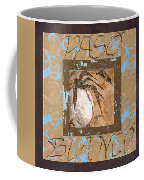 Decor Coffee Mug featuring the painting Bianco Vinaccia by Guido Borelli