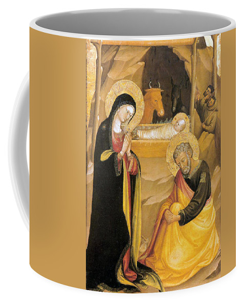 Painting Coffee Mug featuring the photograph Bicci Di Lorenzo Painting by Munir Alawi