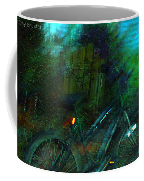 Clay Coffee Mug featuring the photograph Bicycle by Clayton Bruster