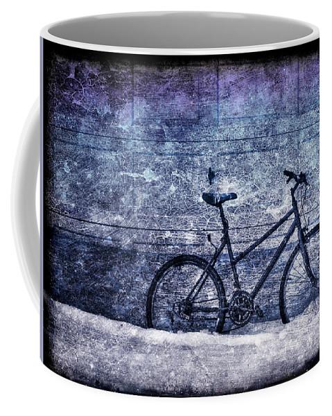 Bicycle Coffee Mug featuring the photograph Bicycle by Evelina Kremsdorf