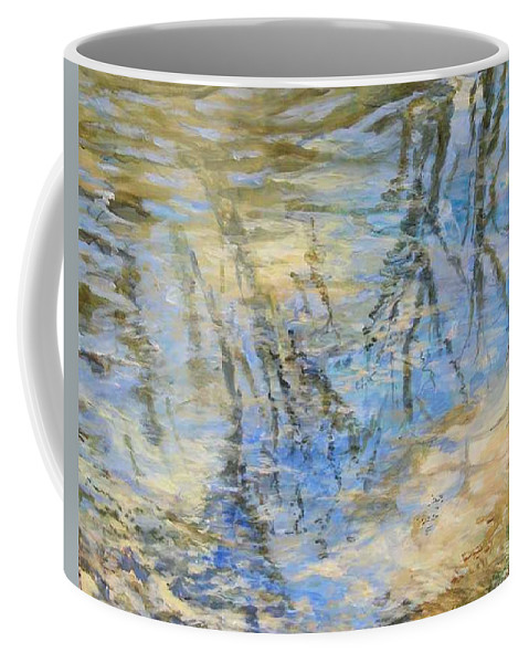 Water Coffee Mug featuring the painting Big Creek by Denise Ivey Telep