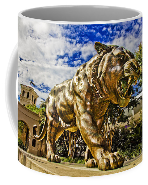 Mike The Tiger Coffee Mug featuring the photograph Big Mike by Scott Pellegrin