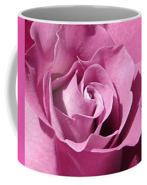 Rose Pink Coffee Mug featuring the photograph Big Pink by Luciana Seymour