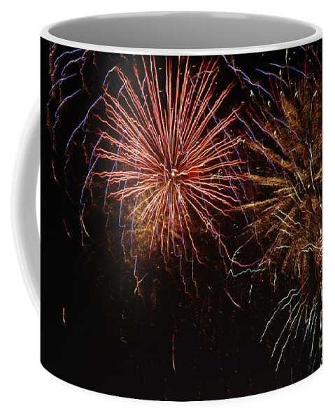 Fireworks Coffee Mug featuring the photograph Big Purst by Norman Andrus