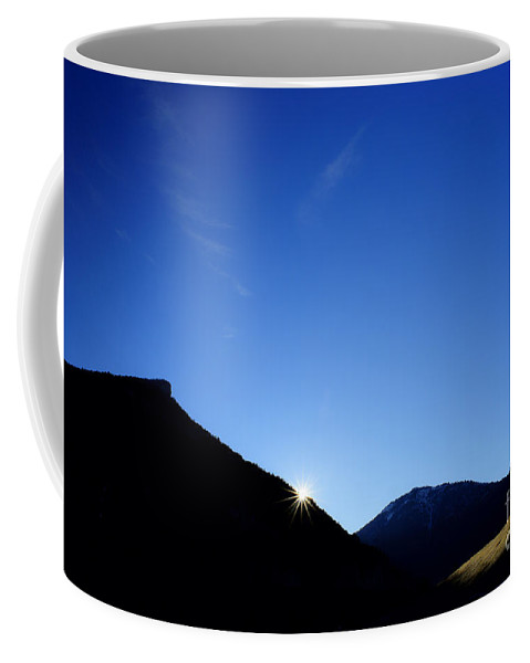 Landscape Coffee Mug featuring the photograph Big Sky Country by Chip Laughton