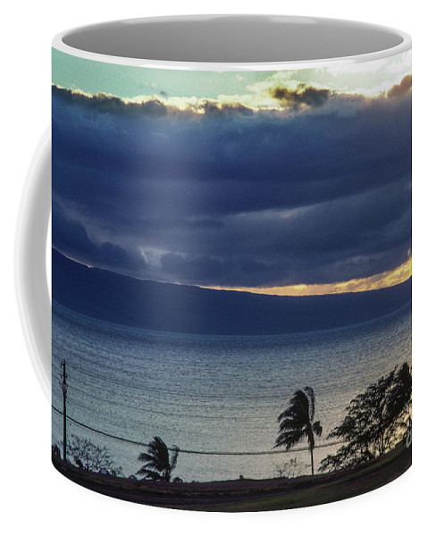 Big Sky Coffee Mug featuring the photograph Over Molokai by David Nicholson