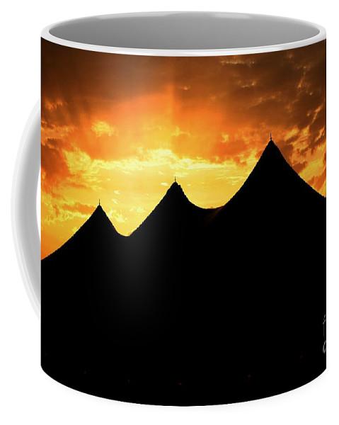Big Top Coffee Mug featuring the photograph Big Top Sunset by Charlene Cox