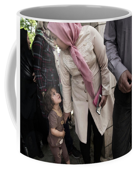 Iran Coffee Mug featuring the photograph Big World by Michel Verhoef